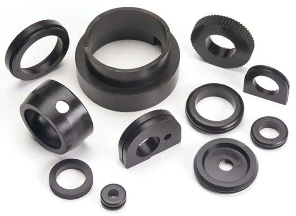 EPDM High density rubber parts.